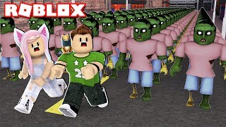 SURVIVE THE 999.999.999 ROBLOX ZOMBIES !