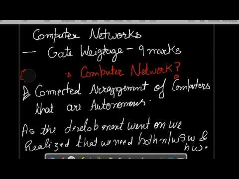 Computer Networks - 1