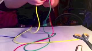 (Paracord) Autism Awareness Ribbon Making Process