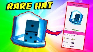 SPARKY DOMINO HAT!! The Best RARE LEGENDARY HATS In BUBBLE GUM SIMULATOR!! (Roblox)