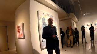 Art - Opening speech at Ryan Hewett