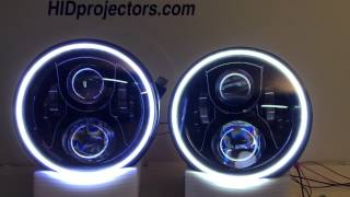 7 jeep wrangler halo jw speaker headlights from hidprojectors com and headlightupgrade com