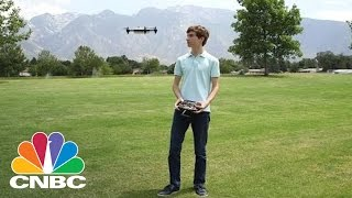 18-Year-Old Entrepreneur Builds World's Fastest Drone | The Pulse | CNBC