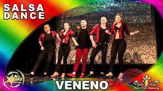 Salsa dance performance by Veneno at All Stars Festival, Antony Santos, Leo Wilber