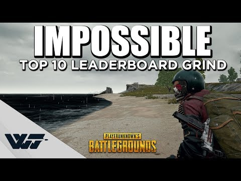 IMPOSSIBLE - TOP10 Leaderboard Grind - Cinematic Gameplay - PUBG