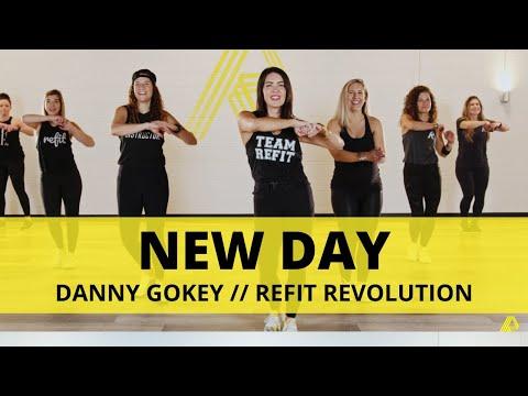 """""""New Day""""    @Danny Gokey    REFIT® Revolution"""