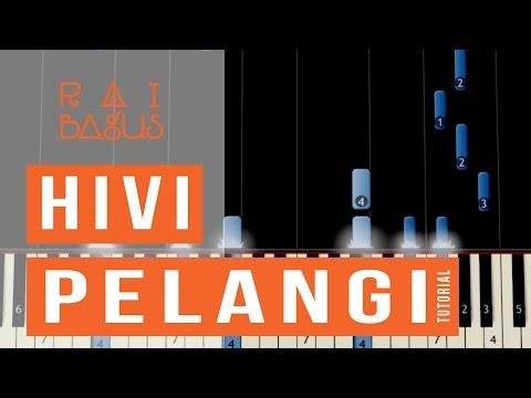 Free Download Hivi - Pelangi Piano Tutorial (sheet Music) Mp3 dan Mp4