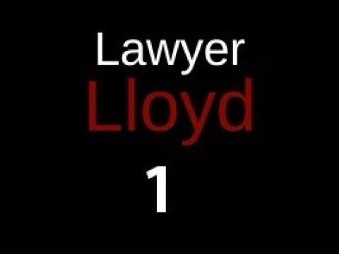"""LAWYER LLOYD Episode 1 """"Crash and Dash"""""""