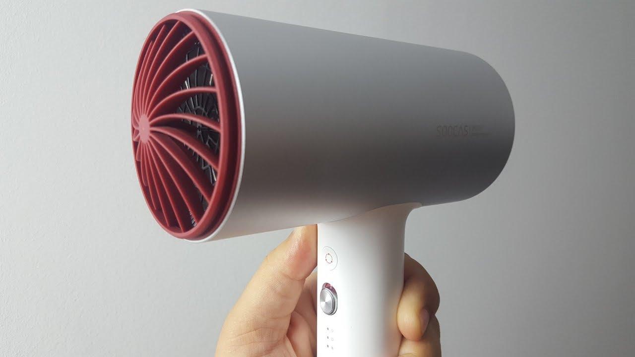 Фен Сяоми Xiaomi SOOCAS H3 <b>Electric Hair Dryer</b> - YouTube