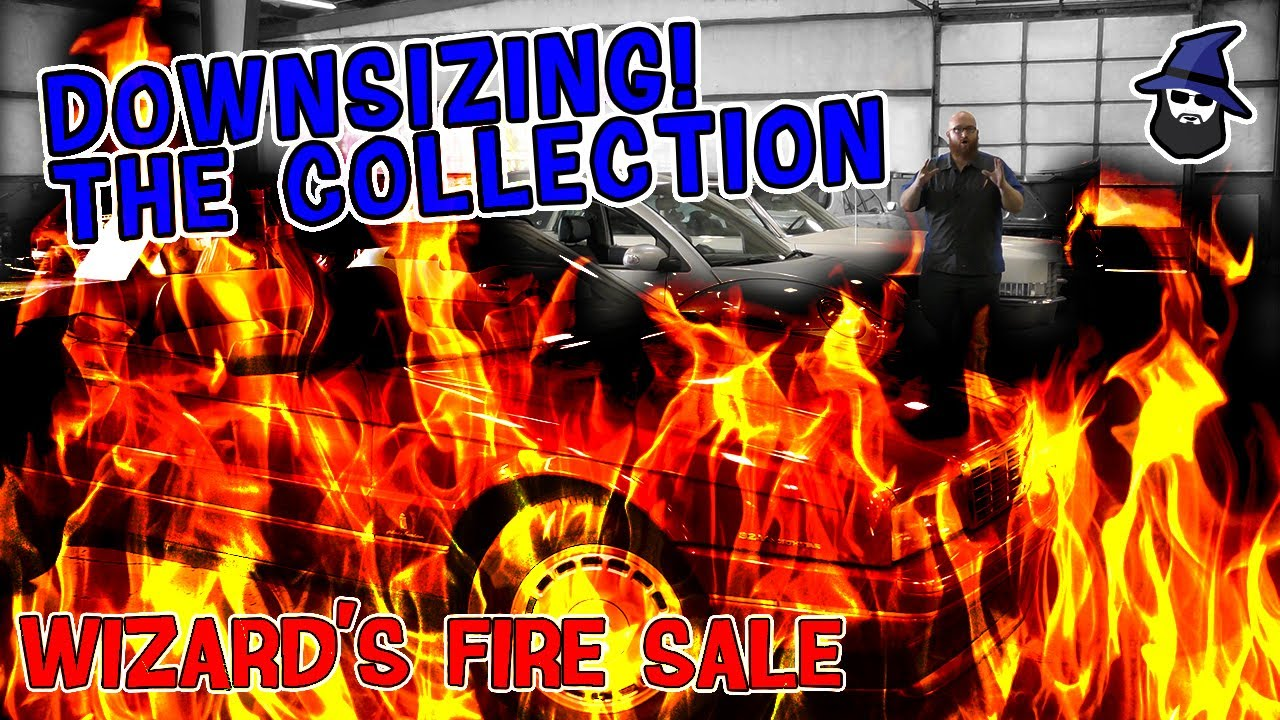 Downsizing the collection! What cars will the CAR WIZARD sell?