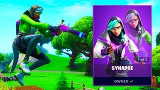 The New SYNAPSE SKIN in Fortnite..