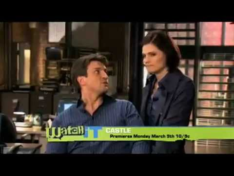 Nathan Fillion and Stana Katic: The Buzz Hunters cover Castle 2009