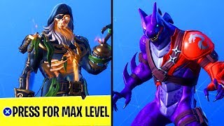 HOW TO LEVEL UP FAST in FORTNITE SEASON 8! FASTEST WAY TO UNLOCK MAX LEVEL BLACKHEART and HYBRID!
