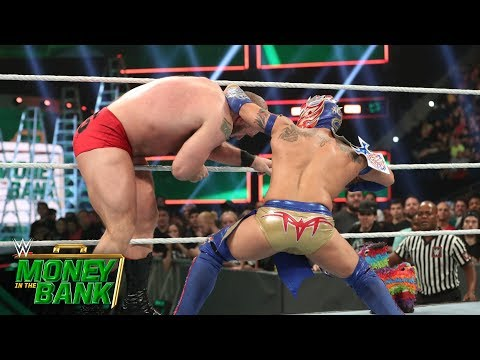 Lars Sullivan decimates Lucha House Party: WWE Money in the Bank 2019