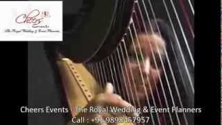 International Harp Player Instrumental Artist Harpist Solo Bollywood Music India Mumbai Delhi Goa