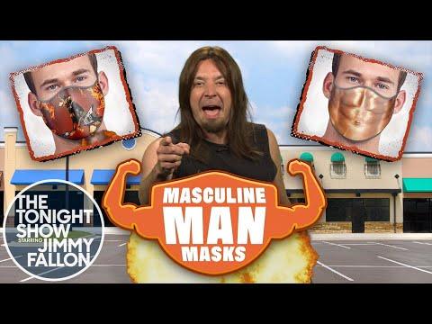 Masculine Man Masks Commercial