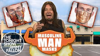 Masculine Man Masks Commercial