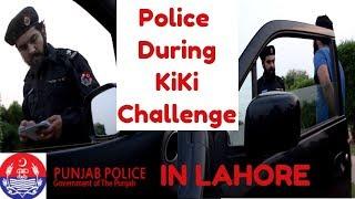 POLICE DURING Kiki CHALLENGE | Challan by Police | Haris Awan