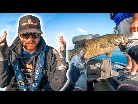 How To BREAK The FALL Fishing SLUMP (giant Smallmouth)