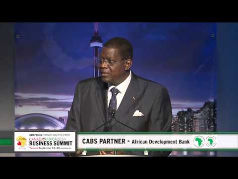 CABS - H.E. Youssouf Ouedraogo, Special Advisor to the President, African Development Bank (AfDB)