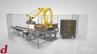 Delkor Systems: Introducing Delkor's Robotic Palletizing System