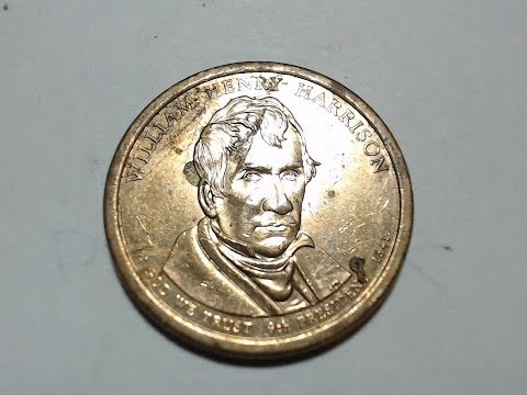 Presidential Dollar Coin: William Henry Harrison