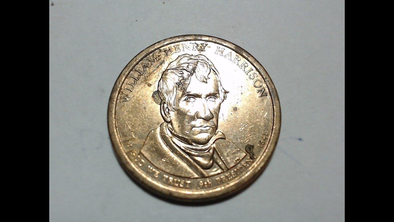 William Henry Harrison $1 Presidential Golden Dollar Coin 2009 P