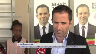 """11e circonscription : Benoit Hamon en campagne """"de terrain"""""""
