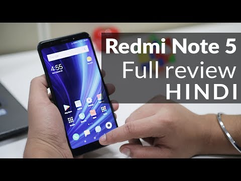 Redmi Note 5 Review: Great Performance but Average Camera Quality (Hindi)