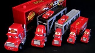 Mack Semi Truck CARS 2 Deluxe Edition 2013 Rust-eze Racing Mattel Pixar trucks review Caminhões