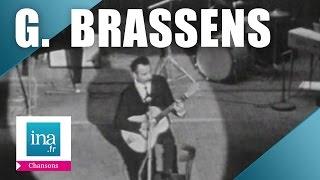 """Georges Brassens """"La complainte des filles de joie"""" (live) - archive vidéo INA"""