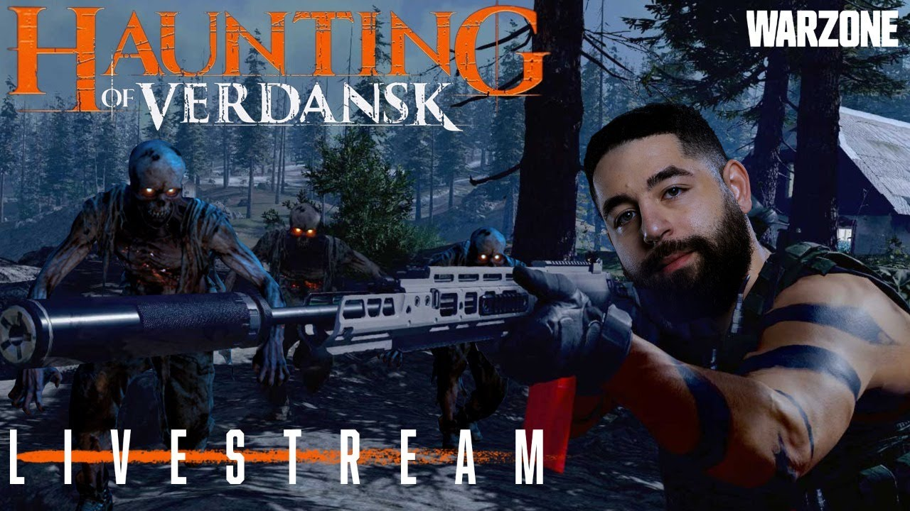 WARZONE ZOMBIES — Haunting of Verdansk Gameplay With @Nameless