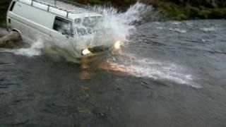 VW T25/T3 Syncro river crossing
