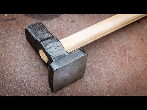 Blacksmithing - Forging a flatter