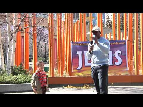 """Street Church - """"Which Side Are You On?""""- Brother Thomas (Calgary, Apr. 3, 2016)"""