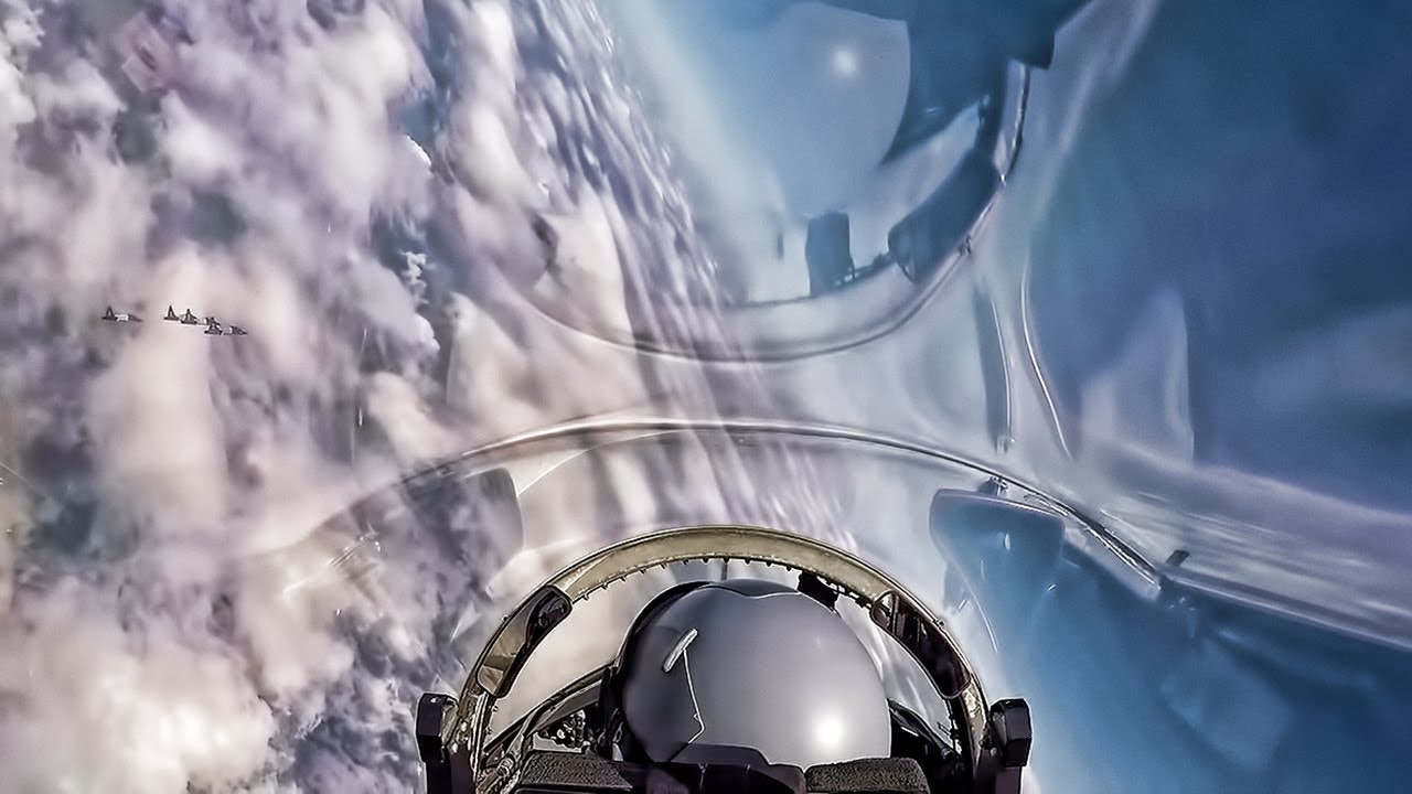 Usaf T 38 Talon Formation Flight Cockpit View 2018