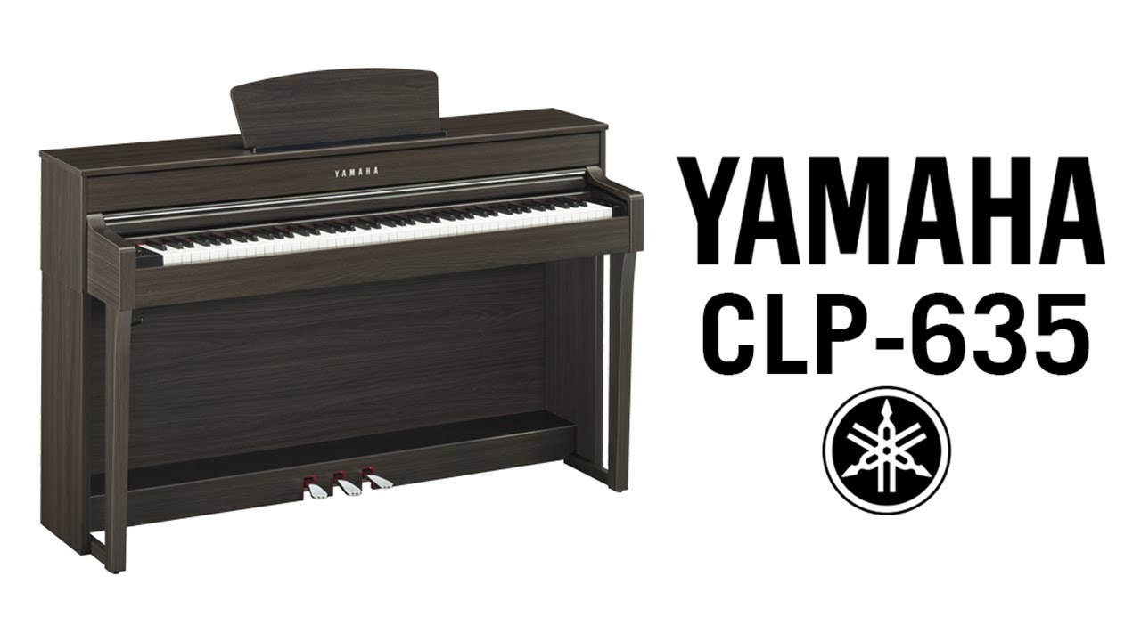 Yamaha clavinova clp 635 review demo youtube for Yamaha clp 635 review