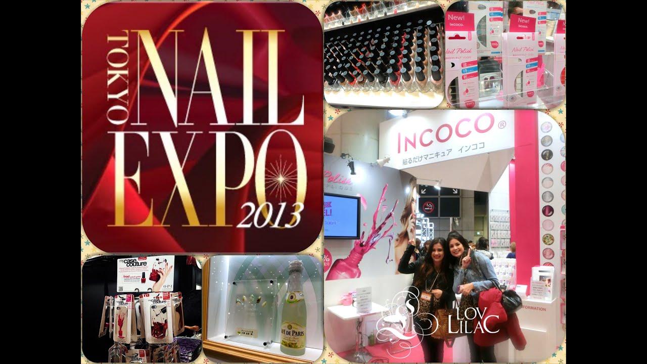Nail Expo Japan 2013!! - Lov Lilac - YouTube