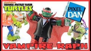 Vampire Raph Teenage Mutant Ninja Turtles Monsters and Mutants Figure Video Review