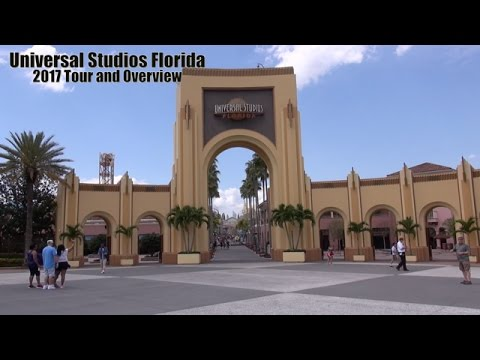 Universal Studios Florida 2017 Tour and Overview | Universal Orlando Resort Florida