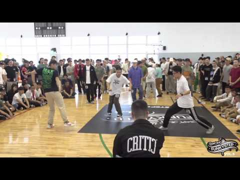 Popping Open Side Audition l FUNKY STEP vol 5