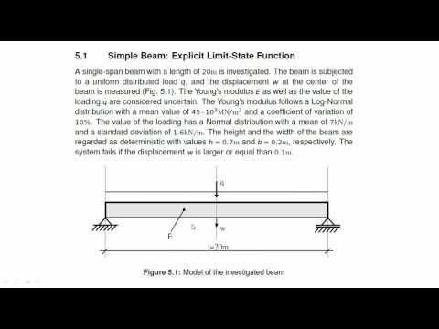Finite Element Software 2016: RELY - Reliability Analysis Basic Features