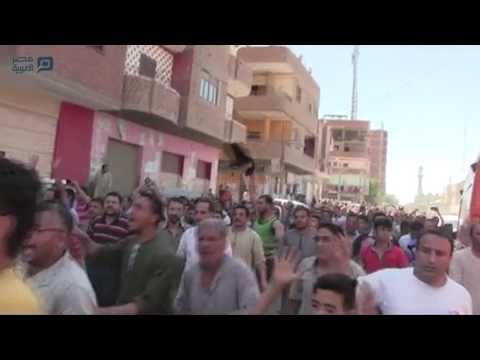 مصر العربية | مظاهرة لأقباط المنيا تنديدًا بحادث أتوبيس الأقباط
