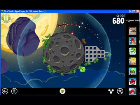 Angrybirds phiên bản không gian hoàng tráng