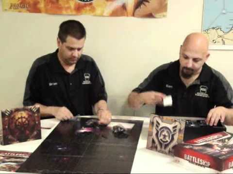 Battleship Galaxies Box Opening
