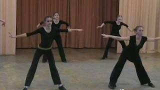 modern-jazz dance, master class, part2