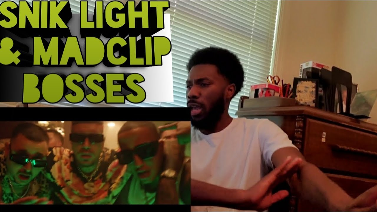 Download AMERICAN REACTING TO SNIK ft. Light, Mad Clip - BOSSES (Official Music Video)