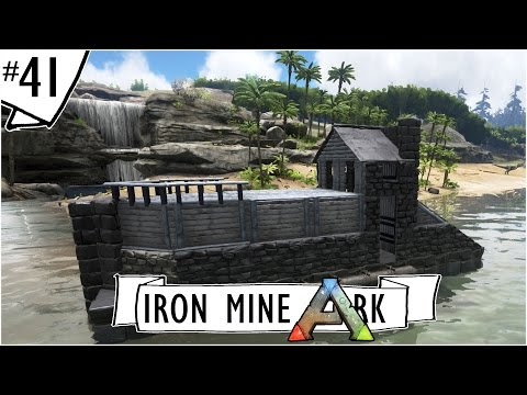 NEW BOAT + STARTING A MAIN BASE AREA :: Ep. 41 :: Ark: Survival Evolved :: Iron Mine Youtuber Server
