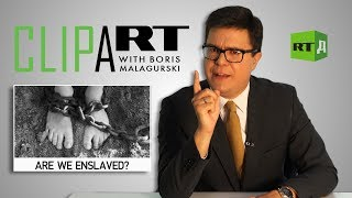 Clipart with Boris Malagurski: Are we enslaved?