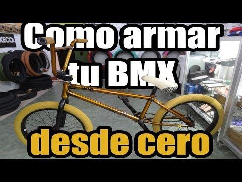 Como Armar Tu BMX Desde Cero   Tutorial Paso A Paso